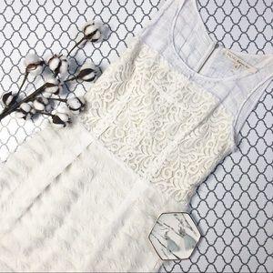 Rachel Roy White Lace Dress with Fringe (4)